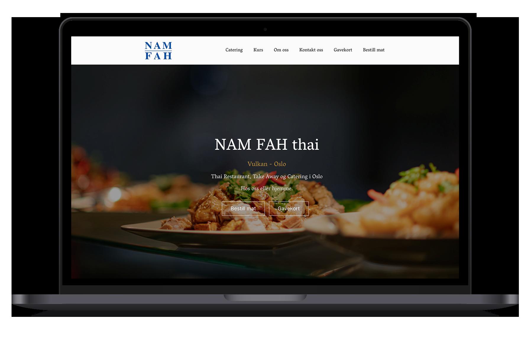 NAM FAH - referanse - mockup